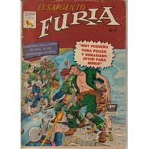 El Sargento Furia. Comics.(la Prensa) Año-1966-1975. $100.00