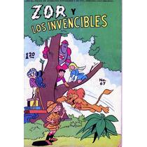 Comic Zor Y Los Invencibles # 67 Tamaño Grande De Editormex
