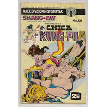 Comic La Chica Kung-fu Artes Marciales Macc Division 1975