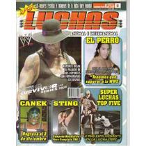 Super Luchas Revista.