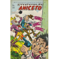 Comics Antiguos Aventuras De Aniceto Y Hermelinda Linda Mdn