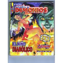 Tlax Comic De Terror Angeles Y Demonios #149 Niño Diabolico