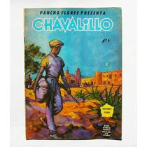Pancho Flores Chavalillo No. 6 Comic Taurino Mexicano 1957