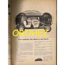 Revista Contenido Anuncios Auto Vw Volkswagen 1964