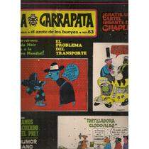 Revista Garrapata Rius Naranjo Poster Gigante Chaplin 1970