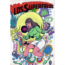 Tlax Comic Los Superfrios # 104 Historieta Mexicana Antigua