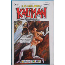 Kalimán En Kalicolor - Núm 6 - Edición Color- Revista, Cómic