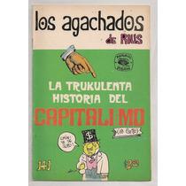 3 Comics Rius Agachados Trukulenta Historia Capitalismo 1974