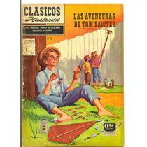 Clásicos Ilustrados Número 9 Las Aventuras De Tom Sawyer