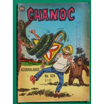 1967 Chanoc Aventuras De Mar Y Selva #424 Comic Herrerias