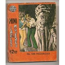 Minicomics Cárcel De Mujeres Editormex De 1972 Rarísimos Hlw