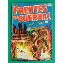 1952 Frentes De Guerra #4 Comic Mexicano Editorial La Prensa