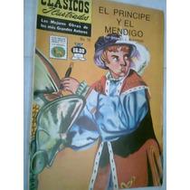 Clásicos Ilustrados El Principe Y El Mendigo Edic 1973