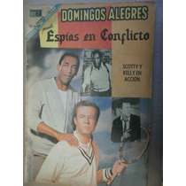 Yo Soy Espia Espias En Conflicto Editorial Novaro Mex 1968