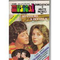 Arlette Pacheco En:fotonovela Musical Y Novela De Amor.