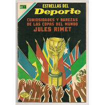 Mundiales De Futbol Copa Jules Rimet Comic Novaro De 1970
