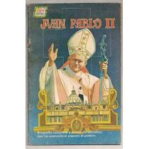 Comic La Vida De El Papa Juan Pablo Ii Ed Novaro Dic1981
