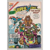 Raro Comic Supermán Supercomic 338 Jack Kirby 1 Novaro 1985
