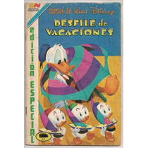 Comic Walt Disney Vacaciones Especial 64 Pags Ed Novaro 1983