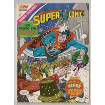 Comic Mexicano Supermán Supercomic # 402 Novaro 1985