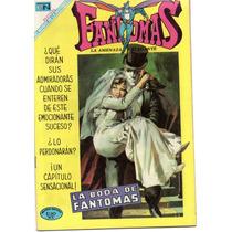 Fantomas Años 60s (grandes) Novaro Numeros Bajos