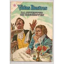 Lote 2 Comics Novaro Vida Y Muerte Ludwig Van Beethoven 1963