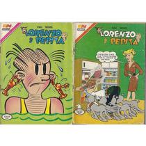 Lorenzo Y Pepita Ed Novaro Serie Aguila