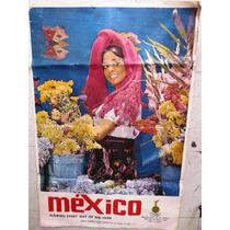 Vintage Poster De Las Olimpiadas Del 68