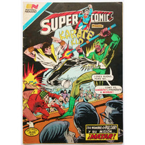 Superman # 217 Supercomic Karate Kid 1981 Aguila Tlacua03