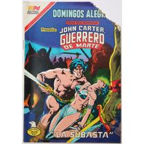 Domingos Alegres # 1404 John Carter Novaro 1981