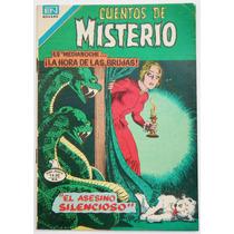 Cuentos De Misterio # 282 Ed. Novaro 1979 Tlacua03