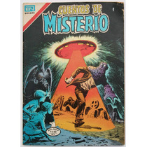 Cuentos De Misterio # 284 Ed. Novaro 1979 Tlacua03