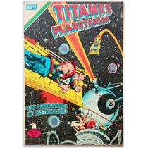 Titanes Planetarios # 435 Los Sembradores Novaro 1979 Aguila
