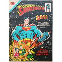 Superman # 1130 Liga El Hombre De Acero Novaro 1977 Aguila