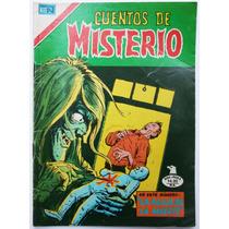 Cuentos De Misterio # 295 Ed. Novaro 1979 Tlacua03