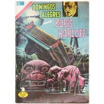 Domingos Alegres # 1306 Boris Karloff Novaro 1979