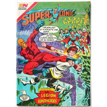 Superman # 224 Supercomic Karate Kid 1981 Aguila Tlacua03