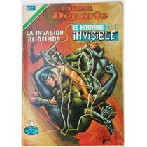 Hombre Invisible Num. 71 Kid Acero Ed. Novaro Tlacua03