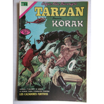 Edgar Rice Burroughs Tarzan # 286 Novaro Enero 1972