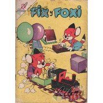 Comic Número 30 De Fix Y Foxi (1966), Serie Original Novaro
