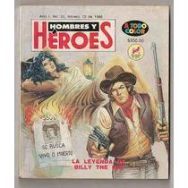 La Leyenda De Billy The Kid Comic Ed Novedades 1988