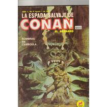 Conan Comic(la Espada Salvaje De Conan El Barbaro) #4 (1988)
