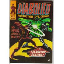 Diabolico. Comics (novedades) Años 80´s. $80.00