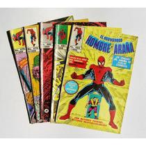 Hombre Araña Set De 5 Números Comic Mexicano 1990