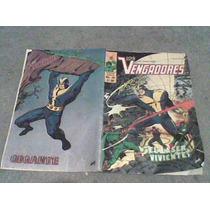 Comic Los Vengadores De Novedades No.34 Y 33
