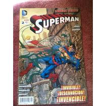 Superman # 2 $100 Televisa Dc Comics Mexico Batman
