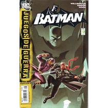 Batman Juegos De Guerra Y Batman & Robin Editorial Vid