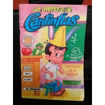 Comic Cuento Historieta Num 1 Las Aventuras Cantinflas 1991