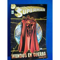 Superman Mundos En Guerra Tomo 2 Editorial Vid