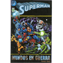Superman Mundos En Guerra Tomo Uno Editorial Vid